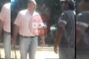 """Video: Fuerte discusión de un Intendente correntino con chicote en la mano """"aprende a respetar"""""""