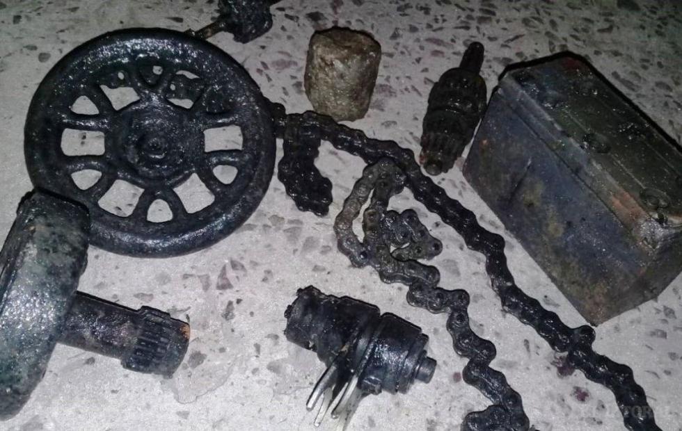 Plan Hídrico en Corrientes: Encontraron residuos de un taller mecánico en los desagües
