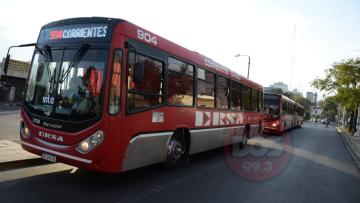 Transporte Colectivo Chaco-Corrientes paro