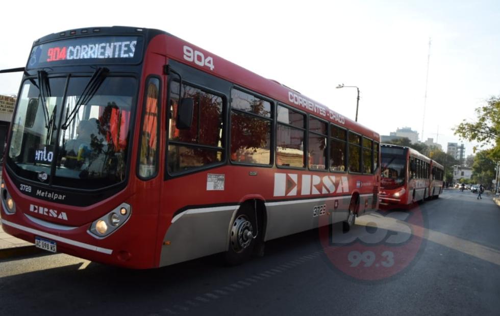 Paro de transporte: Cómo funcionará el servicio Chaco Corrientes hasta el lunes