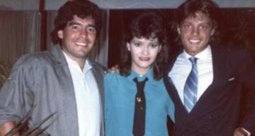 Maradona y Luis Miguel