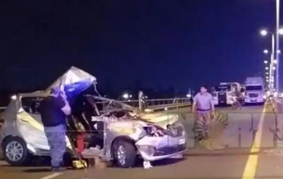 Chaco: Un herido grave tras violento accidente en el acceso a Resistencia