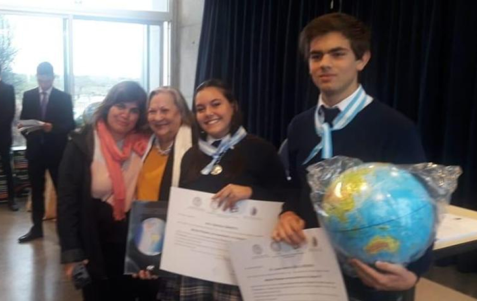 Orgullo: Estudiantes correntinos ganaron el Oro y la Plata en la Olimpíada Nacional de Geografía