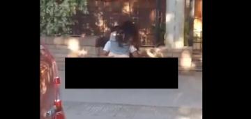 Polémica en Corrientes por el video viral de jóvenes teniendo sexo en la vereda.jpg