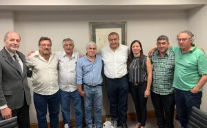 Para normalizar la CGT sindicalistas correntinos se reunieorn con Héctor Daer