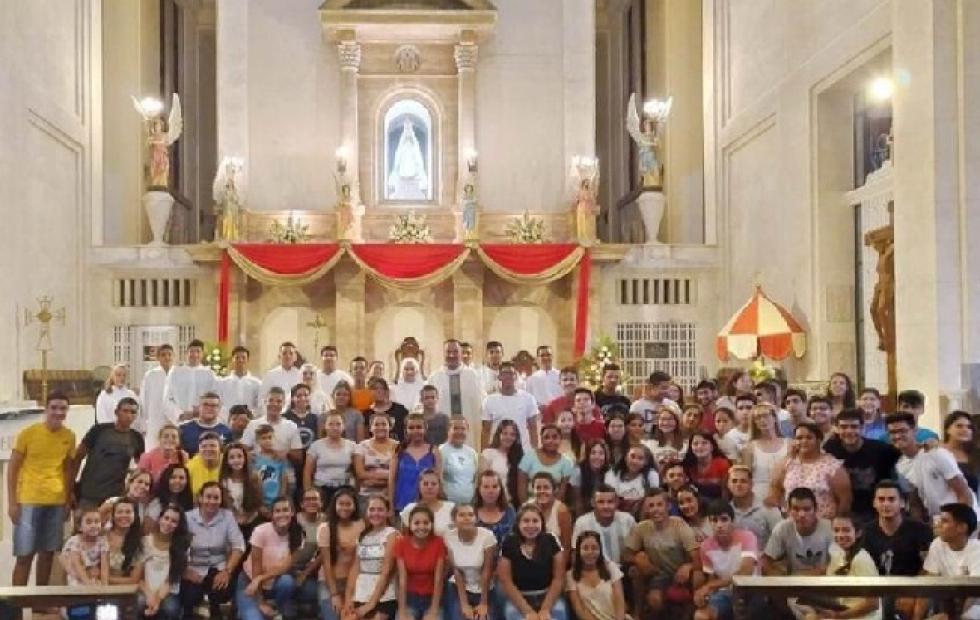Una misa en la basílica de Itatí abrió la semana juvenil orionita