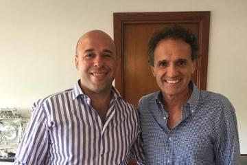 Paso de los Libres: El Intendente Martín Ascúa se reunió con el Ministro de Obras Públicas Gabriel Katopodis