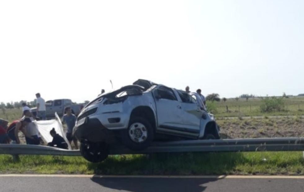 Corrientes: Murió un joven tras tremendo accidente en Ruta 14