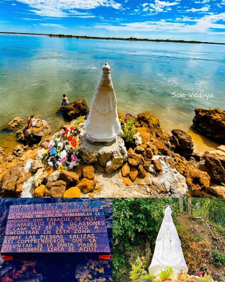 La Virgen de Itati fue entronizada en el río Paraná