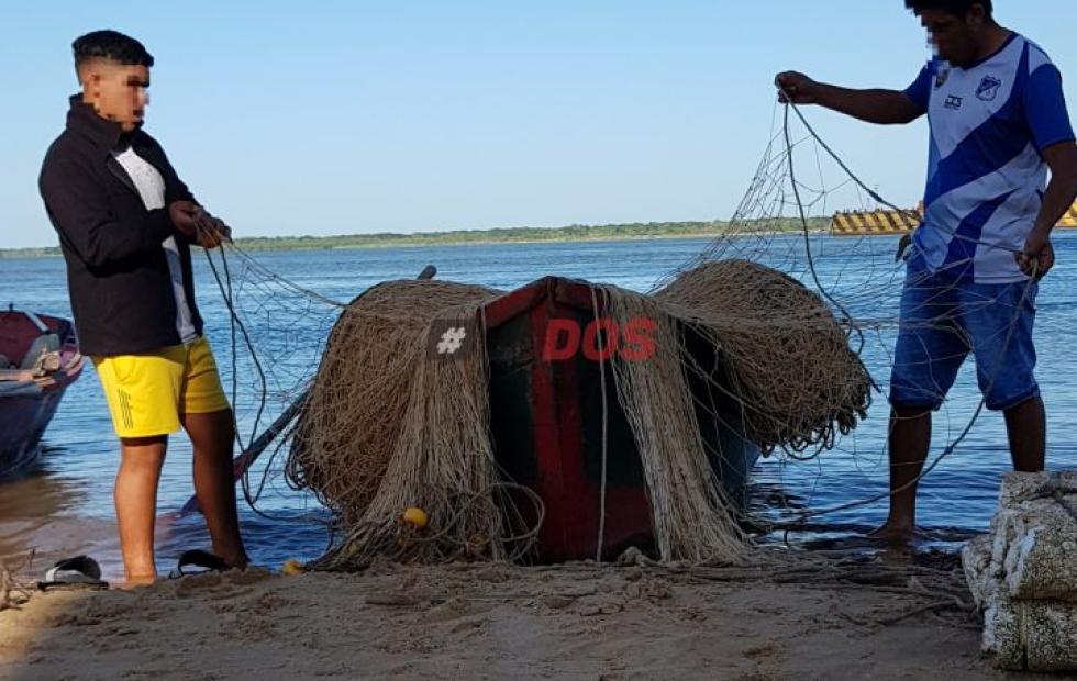 Depredación en Corrientes: denuncian que malloneros pescan en días prohibidos con redes de 300 metros