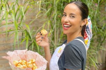 Video: La correntina Lourdes Sánchez enseñó a hacer chipá por Instagram