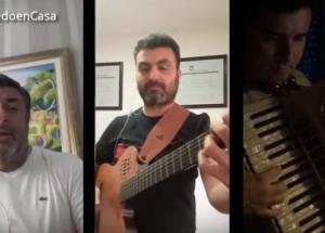 """#YoMeQuedoEnCasa: Chamameceros correntinos y una divertida versión de """"Ahí viene el Moncho"""""""