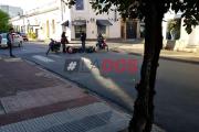 Un agente de Policía herido en un choque en San Martín y España