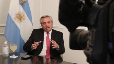 En instantes, Alberto Fernández anuncia desde Olivos que sigue la cuarentena en Argentina