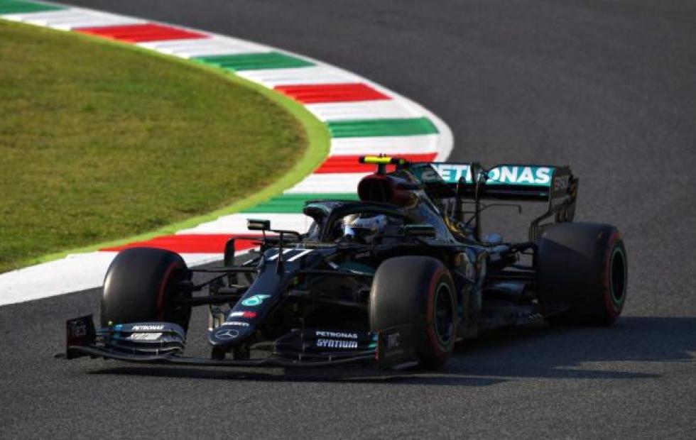 Hamilton gana el GP de Toscana; Checo Pérez llega en quinto sitio