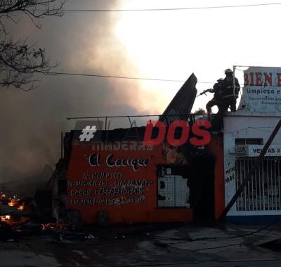 Corrientes: No se descarta que el incendio de la maderera haya sido intencional