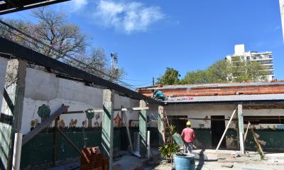 """Restauran a nuevo las salas de niños y patios de formación y juegos del CDI """"Mama Margarita"""""""
