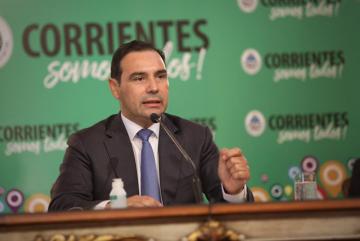 Gustavo Valdes gobernador de Corrientes