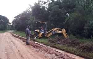 Vialidad provincial intensifica sus intervenciones por las lluvias