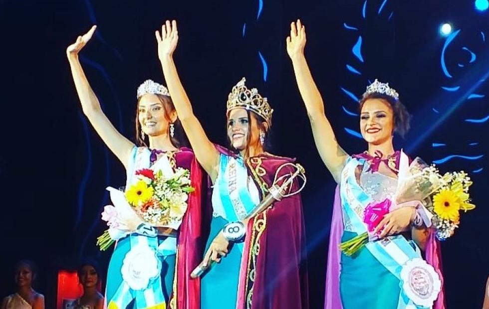 Maria Agostina Vechia fue consagrada nueva Reina Nacional del Surubí