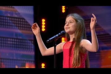 Emanne Beasha: 10-Year-Old Singer Sings Nessun Dorma - FULL Audition on America's Got Talent 2019