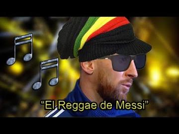 """""""El Reggae de Leo Messi"""" - Lucas Requena   Feat. Maradona, Ruggeri, Pagani y Leo Farinella"""