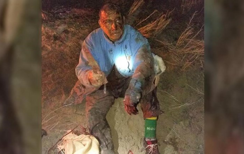 Campesino argentino peleó mano a mano contra un puma para salvar a su perro
