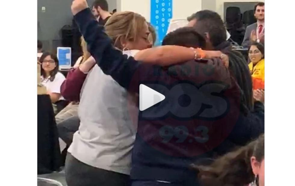Emotivo video: Alumnos de Corrientes ganaron la Maratón Nacional de Robótica y Programación
