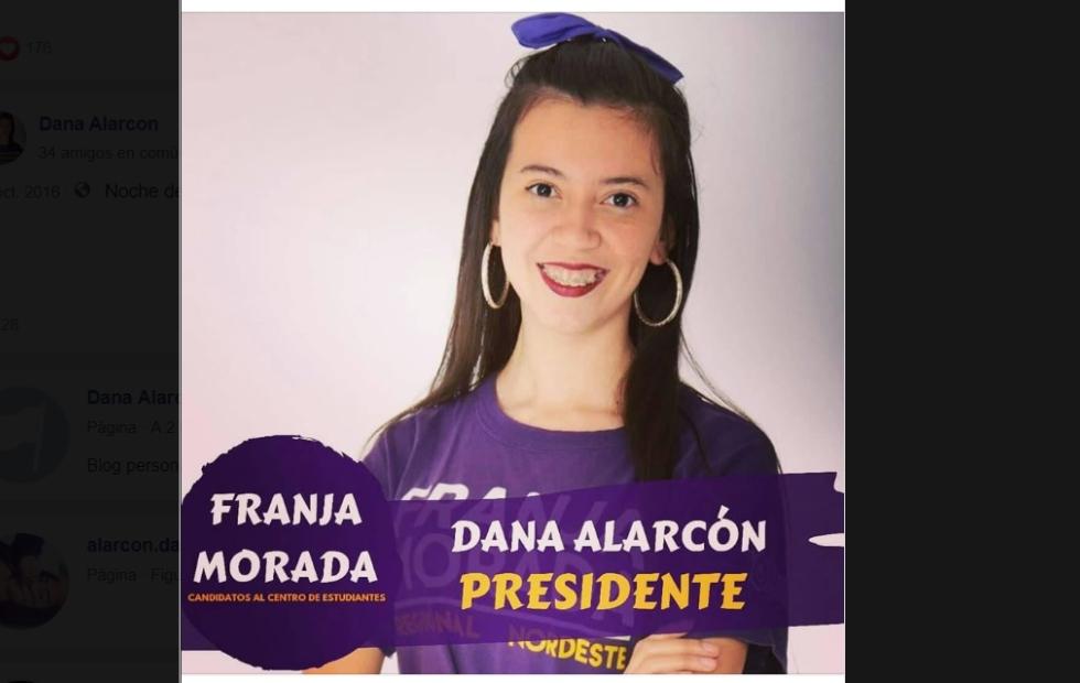 Facultad de Derecho: Gustavo Valdés destacó a la primera presidenta electa del Centro de Estudiantes