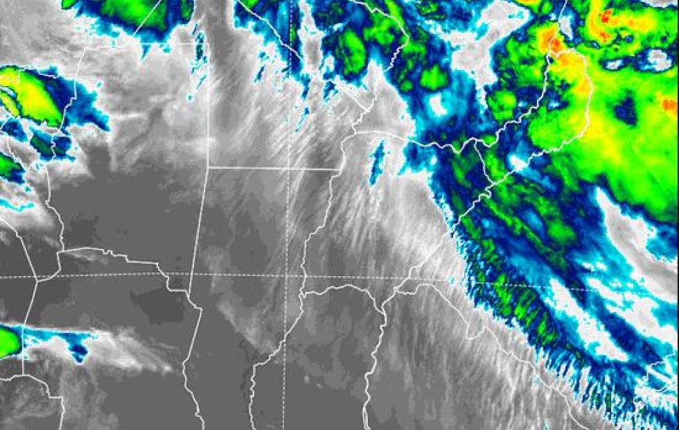 Rige alerta meteorológico por tormentas fuertes en el norte de  Corrientes