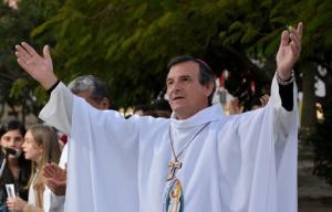 """Monseñor Canecín: """"Ojalá la pandemia nos deje enseñanzas que transformemos en propósitos de vida"""""""