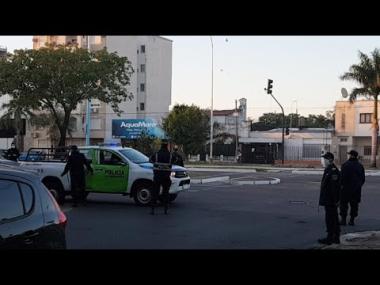 Continúan las controles en ingresos al centro de Corrientes