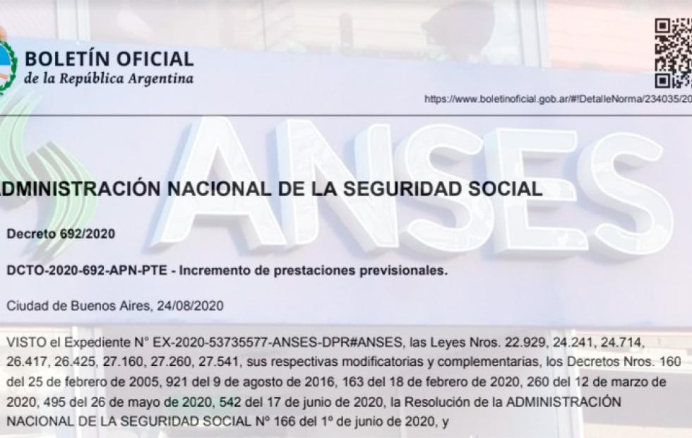 Oficializaron la suba de jubilaciones y asignaciones de Anses: Los nuevos montos
