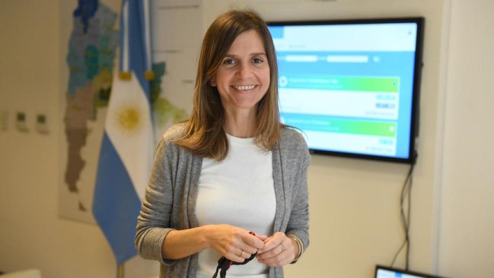 María Fernanda Raverta, titular de Anses