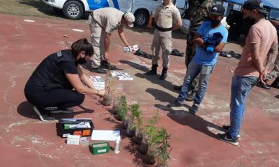 Corrientes: Prefectura decomisó más de 17.800 atados de cigarrillos ilegales y plantas de marihuana