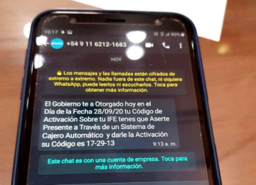 Anses WhatsApp Estafa