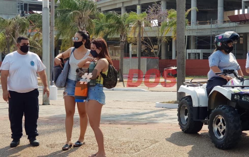 Más de 25.000 personas concurrieron a las playas de la ciudad de Corrientes