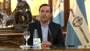 Firma de Convenio del gobernador Gustavo Valdés con empresarios