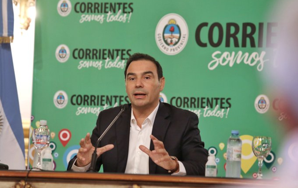 Gustavo Valdés valoró la aprobación del Presupuesto provincial 2021