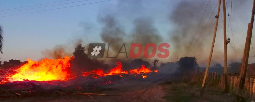 Incendio Santa Rosa