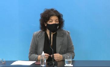 """Carla Vizzotti: """"Hay un 10% más de circulación de las cepas Manaos y Reino Unido"""""""