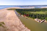 """Bajante histórica del rio Paraná: """"Es un gigante fluvial que fue noqueado"""""""