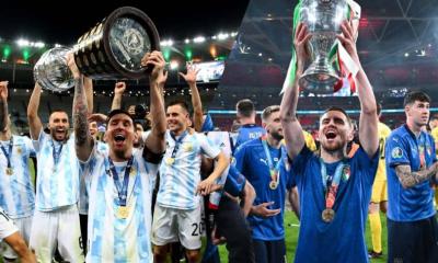 La Selección Argentina y la de Italia jugarían un duelo de campeones en 2022