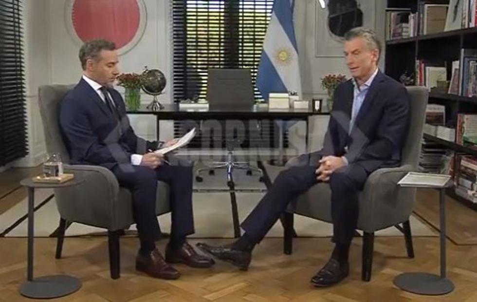 """Macri con Majul: """"Lo de mi padre con el kirchnerismo era un delito"""""""