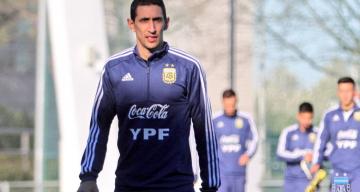 Di María se lesionó y quedó afuera de la gira de la Selección