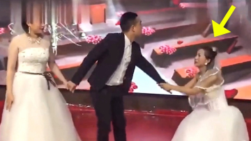Bride in shock after her groom's ex enter wedding in a bridal gown