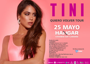Tini llega a Corrientes con divertidas coreografías