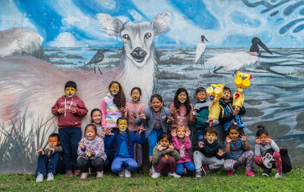 Corrientes: Arami y Mbareté cumplieron un año y yatienen himno con bandera