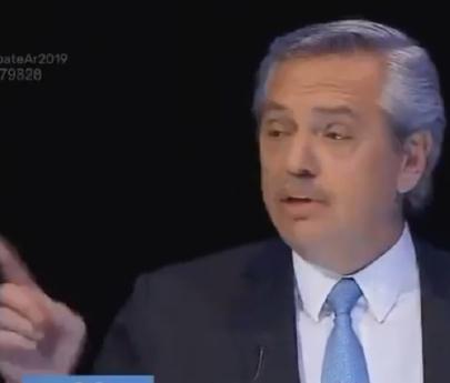 """""""Dedito acusador"""": Alberto Fernández reclamó que Macri olvide su índice y se preocupe por el de inflación"""