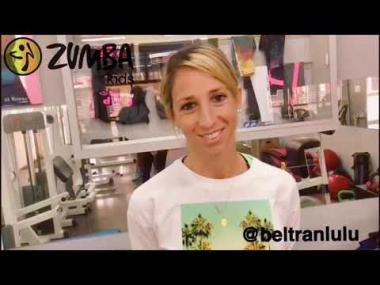Zumba Kids: es importante la actividad física en la niñez. Lulú Beltran